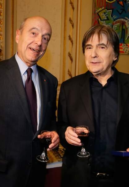 Serge Lama a fait rire Alain Juppé