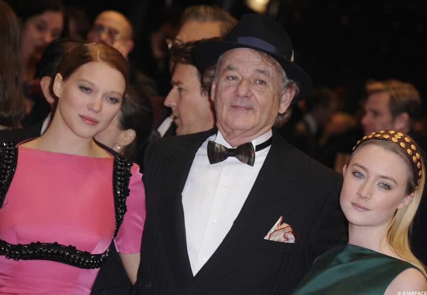Léa Seydoux, Bill Murray et Saoirse Ronan