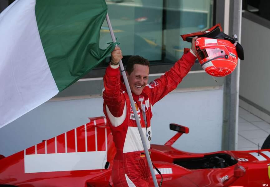 L'Allemand cumule 7 titres de champion du monde de F1