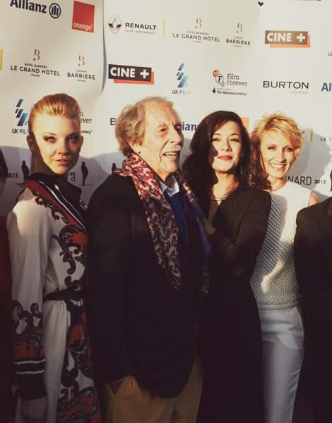 Natalie Dormer, Jean Rochefort, Mélanie Doutey et Alexandra Lamy