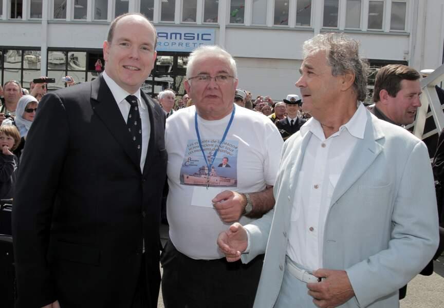 """Il lutte en faveur des enfants malade avec l'association """"Louis Carlesimo"""" parainée par le Prince Albert de Monaco"""
