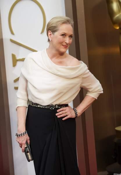 Meryl Streep, toujours aussi magnifique