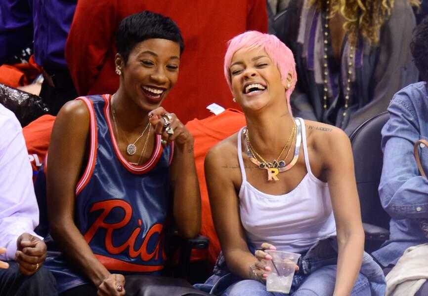 Le sport met en joie Rihanna