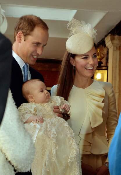 Le baptême du royale baby en octobre 2013