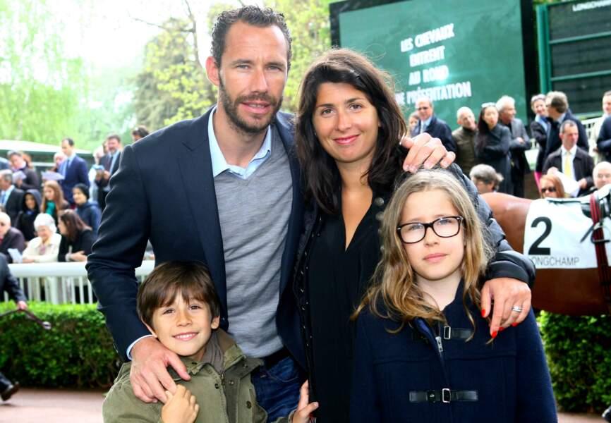 Le tennisman Mickael Llodra est venu en famille