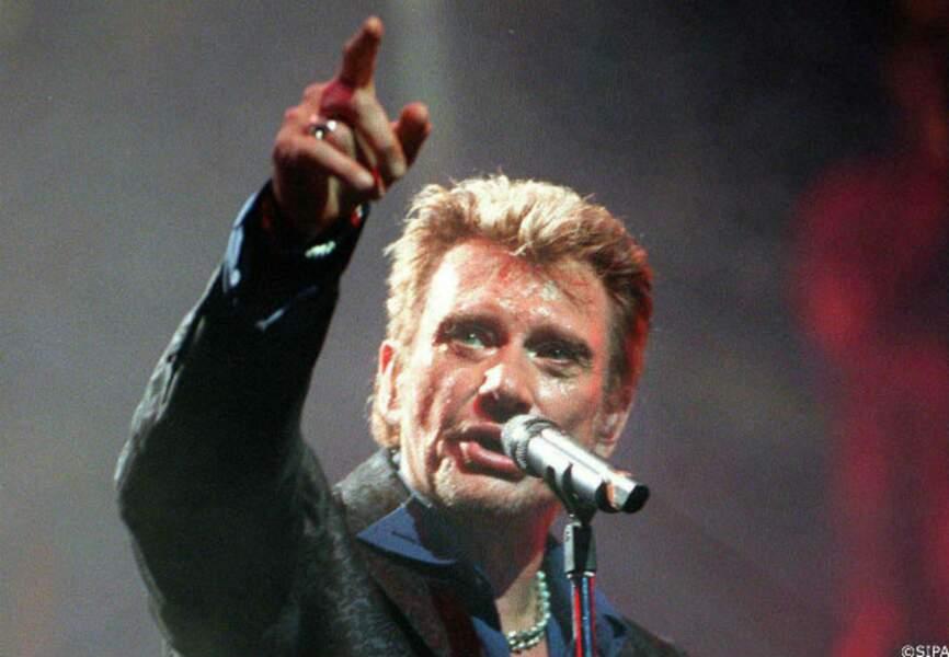 En 2000, Johnny chante à l'Olympia