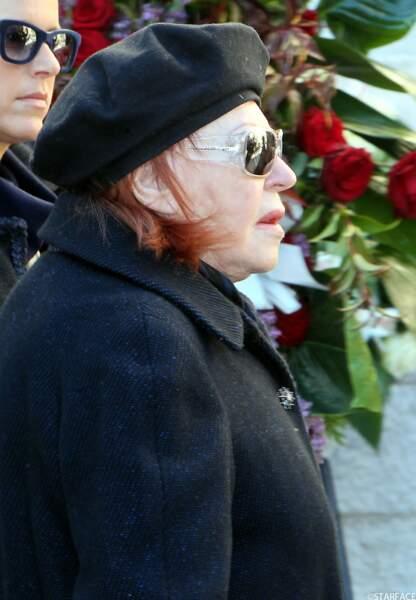 La chanteuse Régine