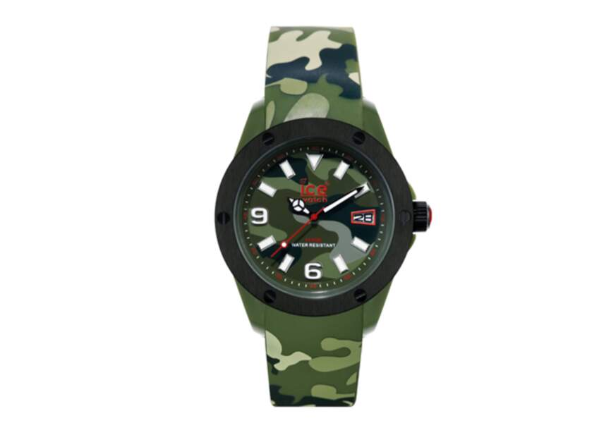 Ice-Watch – Montre militaire – 89,90€
