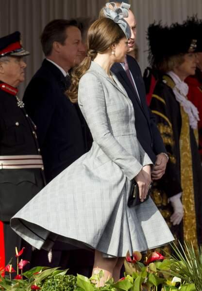 Kate est une adepte des créations Alexander McQueen