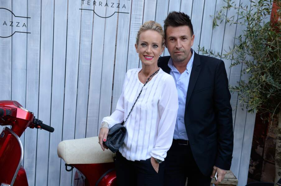 Laurent Guyot(fondateur, de l'agence Laurent Guyot&Co)&Valérie Fohrer(directrice marketing Bacardi martini France