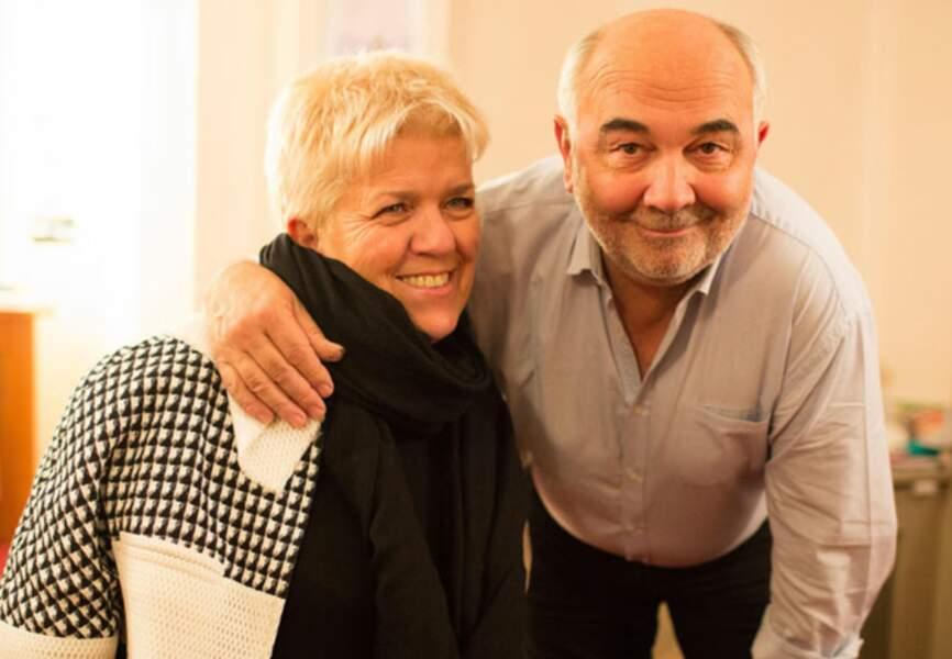 Mimie Mathy et Gérard Jugnot