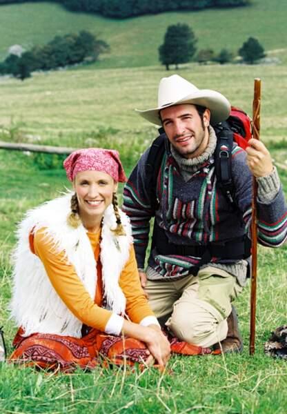 Tournage d'Un gars et une fille dans le Vercors en 2002