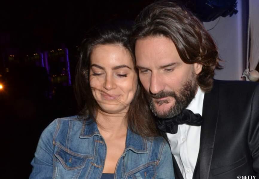 Frédéric Beigbeder et Lara à la soirée du Cercle organisée en marge du festival de Cannes 2012