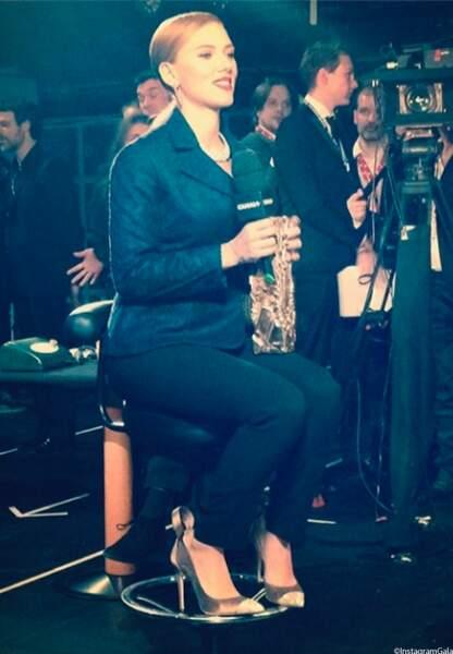 Pour Scarlett Johansson, un César d'honneur, ça assoit une carrière