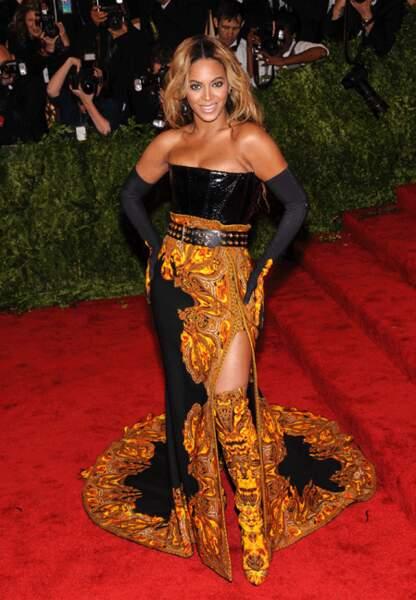 Beyoncé en Givenchy