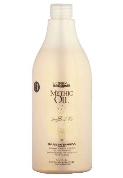 L'Oréal Professionnel, shampoing Mythic Oil Souffle d'or, 16€