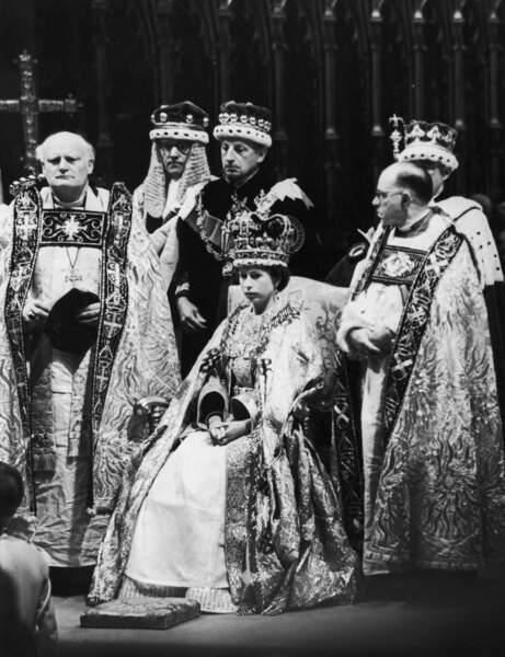 Lors de son couronnement