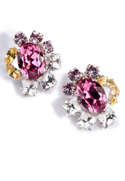 Boucles d'oreilles en cristaux, Kormelitz, 269,10€