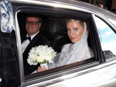 Nicky Hilton, sublime dans sa robe de mariée Valentino