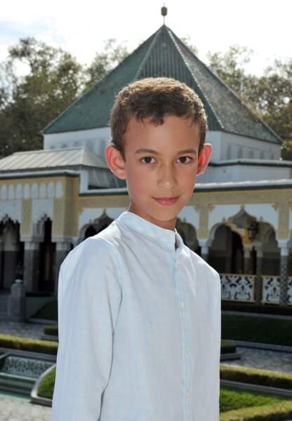 Le prince Moulay Hassan du Maroc (né le 8 mai 2003)
