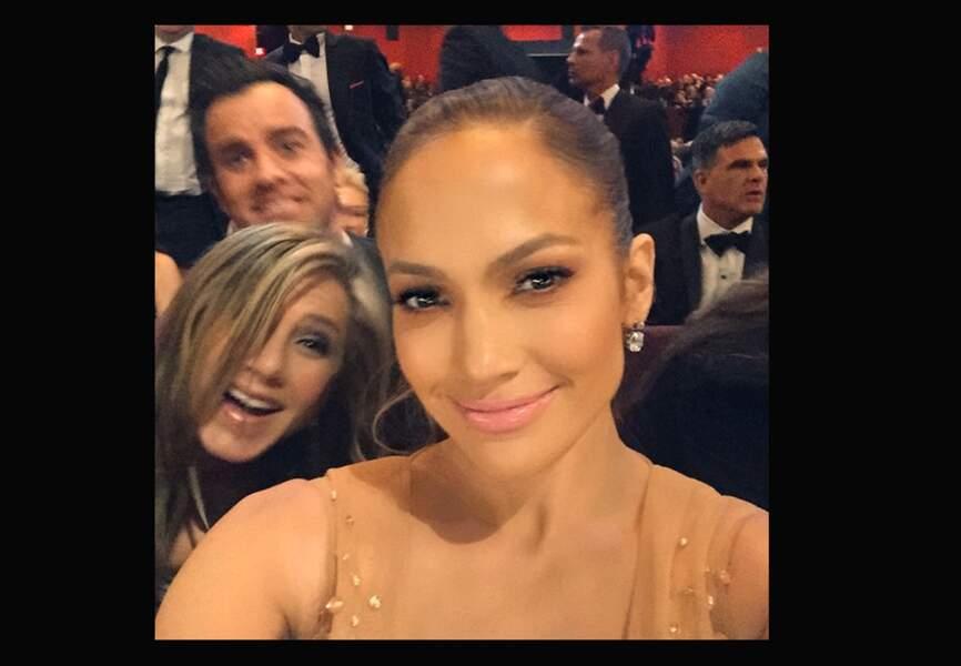 Son selfie avec Jennifer Aniston