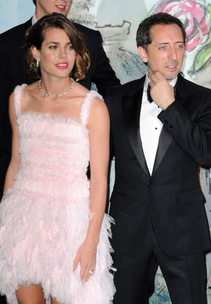 Charlotte Casiraghi et Gad Elmaleh au Bal de la Rose en 2013