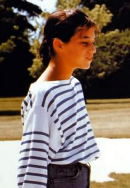 Charlotte Gainsbourg en 1985 dans L'effrontée