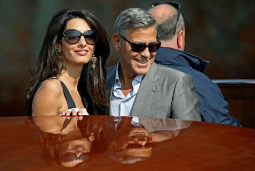 Amal et George, le début d'une grande histoire ?