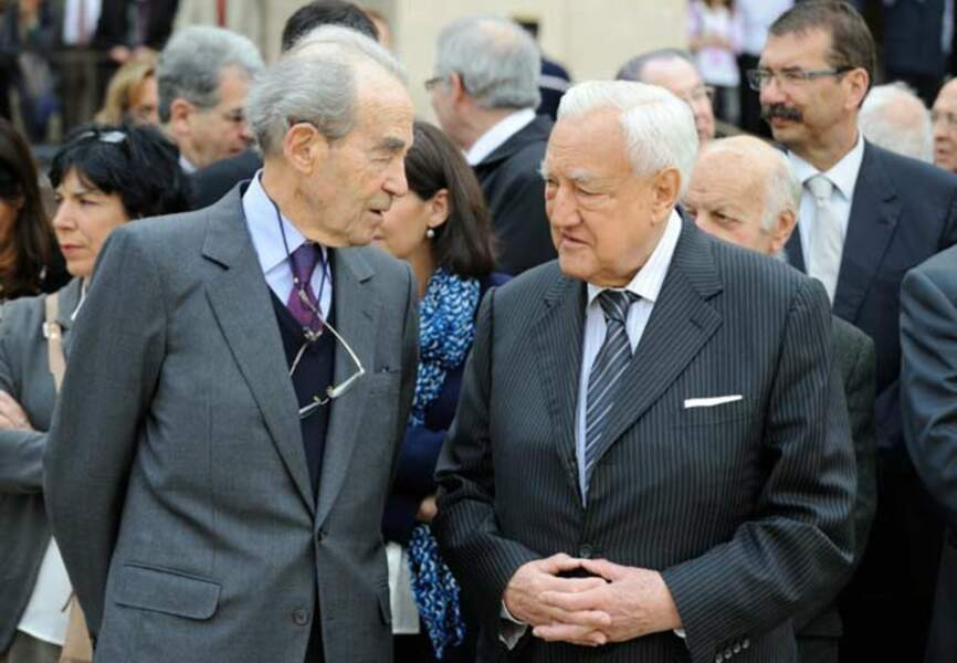 Robert Badinter et Christian Poncelet