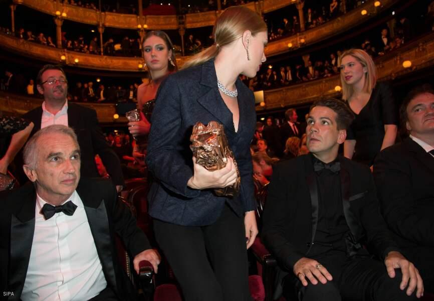 Scarlett et son boyfriend français, Romain Dauriac