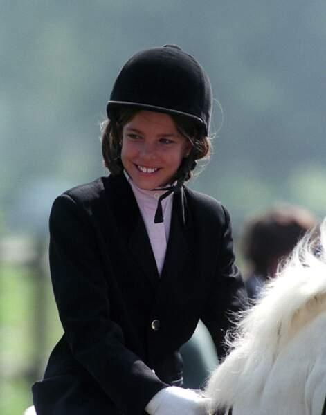 Charlotte Casiraghi une cavalière hors-pair