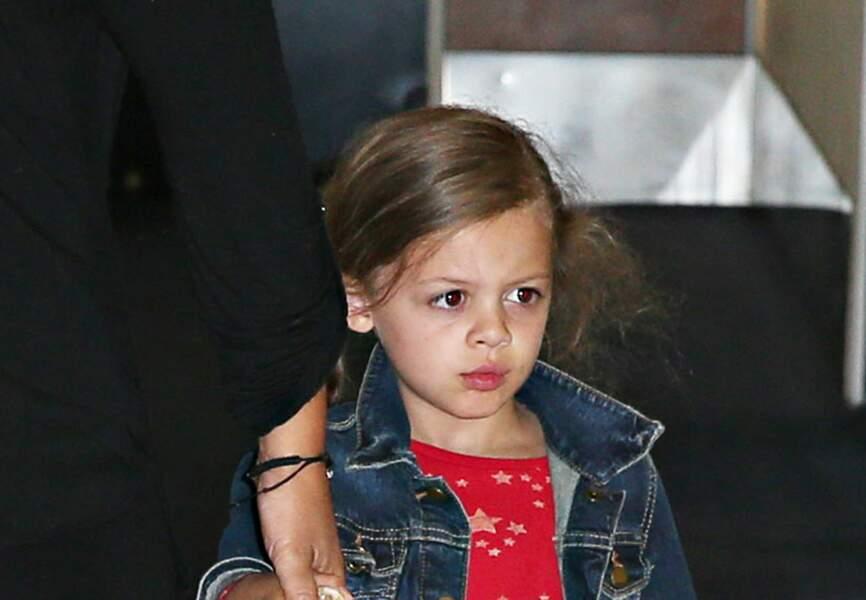 Celle-ci, pas de doute, c'est sa fille Sparrow !