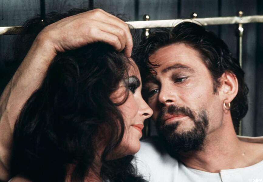 Peter O'Toole et Elizabeth Taylor dans Under milk wood en 1972