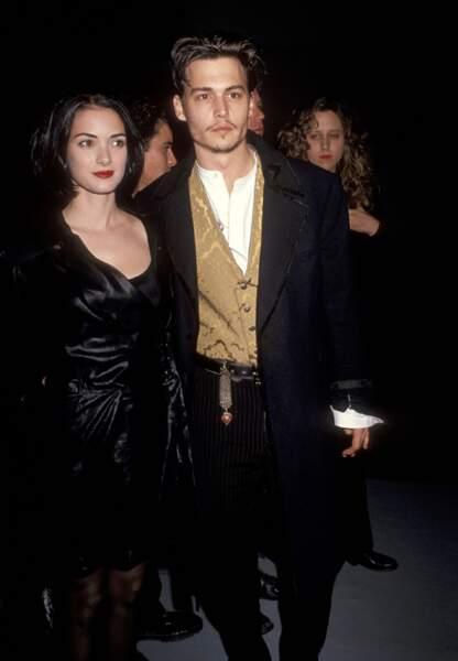 1990: Johnny Depp et Winona Ryder