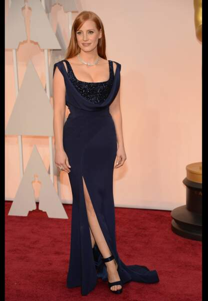 Jessica Chastain en Givenchy Couture