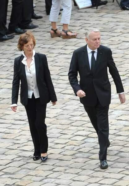 Jean-Marc Ayrault et son épouse