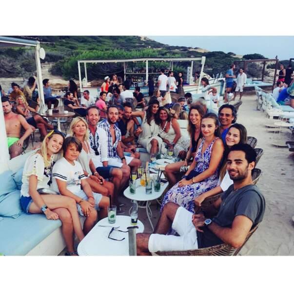 "Ilona Smet et toute sa ""bande"" à Ibiza"