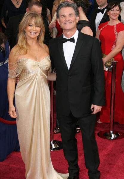 Kurt Russel et l'actrice Goldie Hawn. Qui a été fan de qui en premier ?