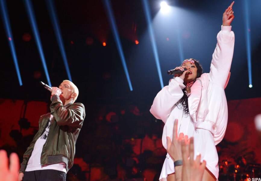 Eminem et Rihanna
