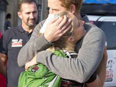 Grande émotion pour le prince Harry et Kirstie Ennis