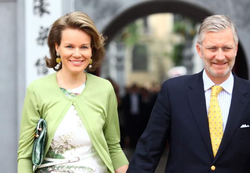 Mathilde reste l'atout numéro un de Philippe de Belgique