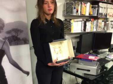 Léa Seydoux et Adèle Exarchopoulos reçoivent leur palme d'or