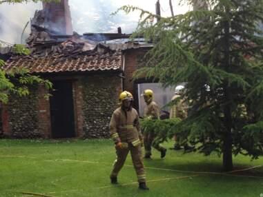 Claudia Schiffer, l'incendie de sa maison