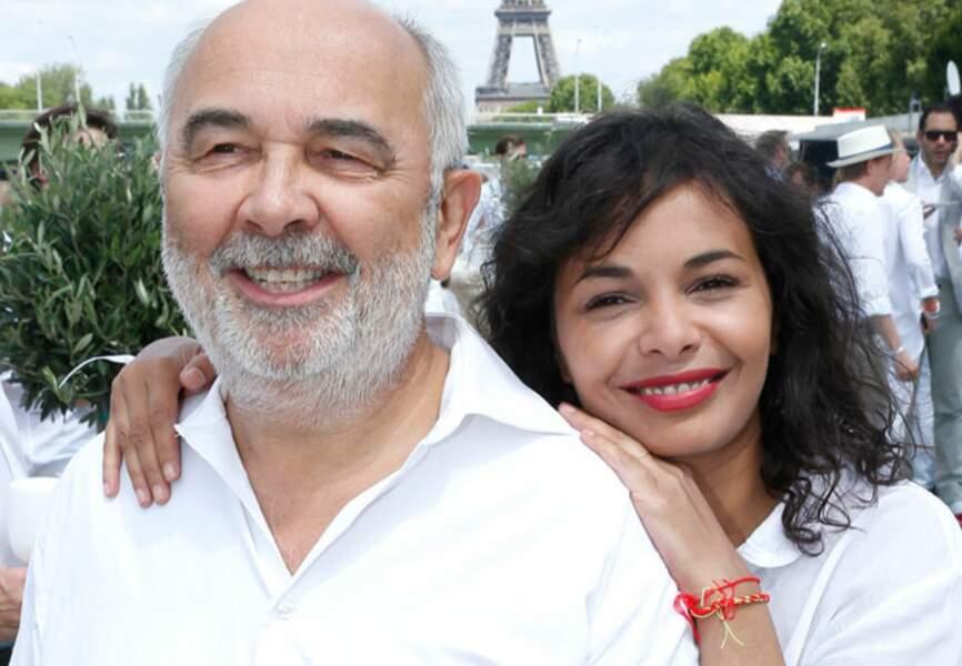 Gérard Jugnot et sa femme Saida Jawad