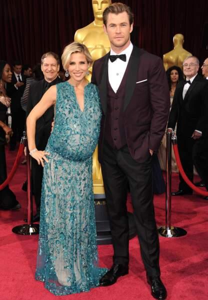Devinez qui attend un enfant ? Elsa Pataky et son homme, Chris Hemsworth