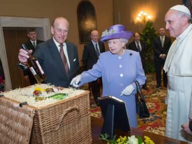Elizabeth II rencontre le pape François