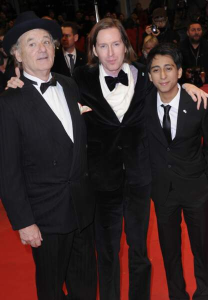 Bill Murray, Wes Anderson et Jeremy Dawson
