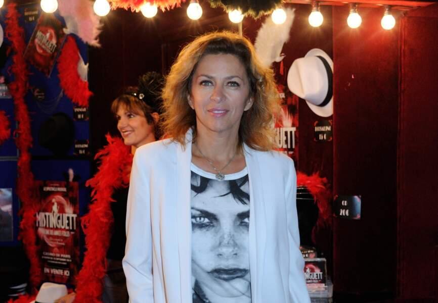 Corinne Touzet est venue profiter du spectacle