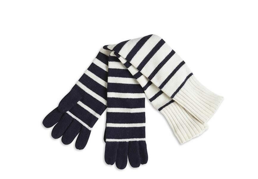 Les gants marinière