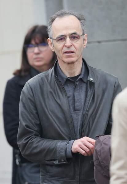 Jean-Jacques Goldman lors des obsèques de Véronique Colucci